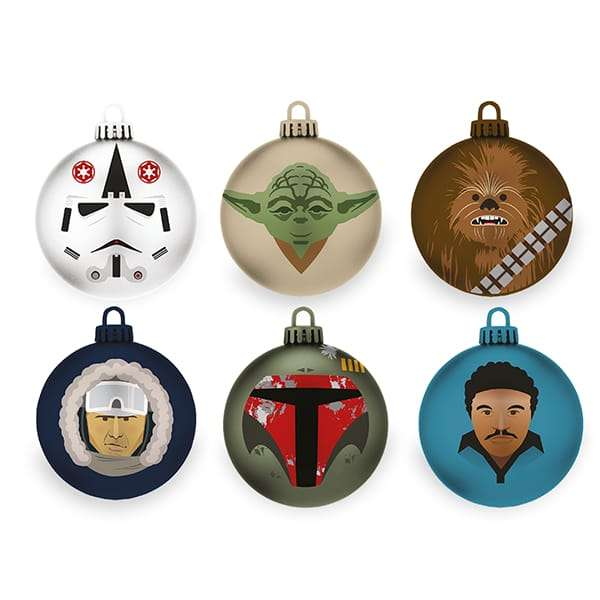 The Empire Strikes Back Bauble / Christmas Tree Ornament Pack