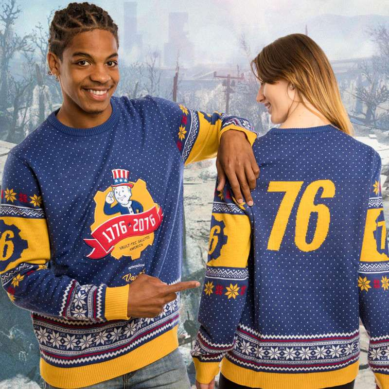 Fallout 76 Christmas Jumper / Ugly Sweater