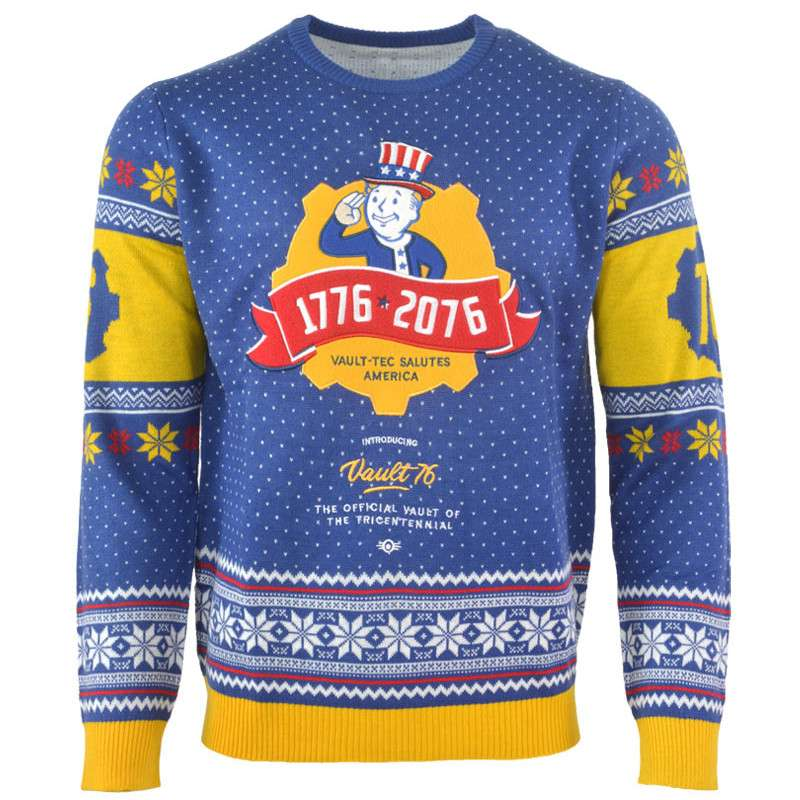 Official Fallout 4 Christmas Jumper - FREE DELIVERY