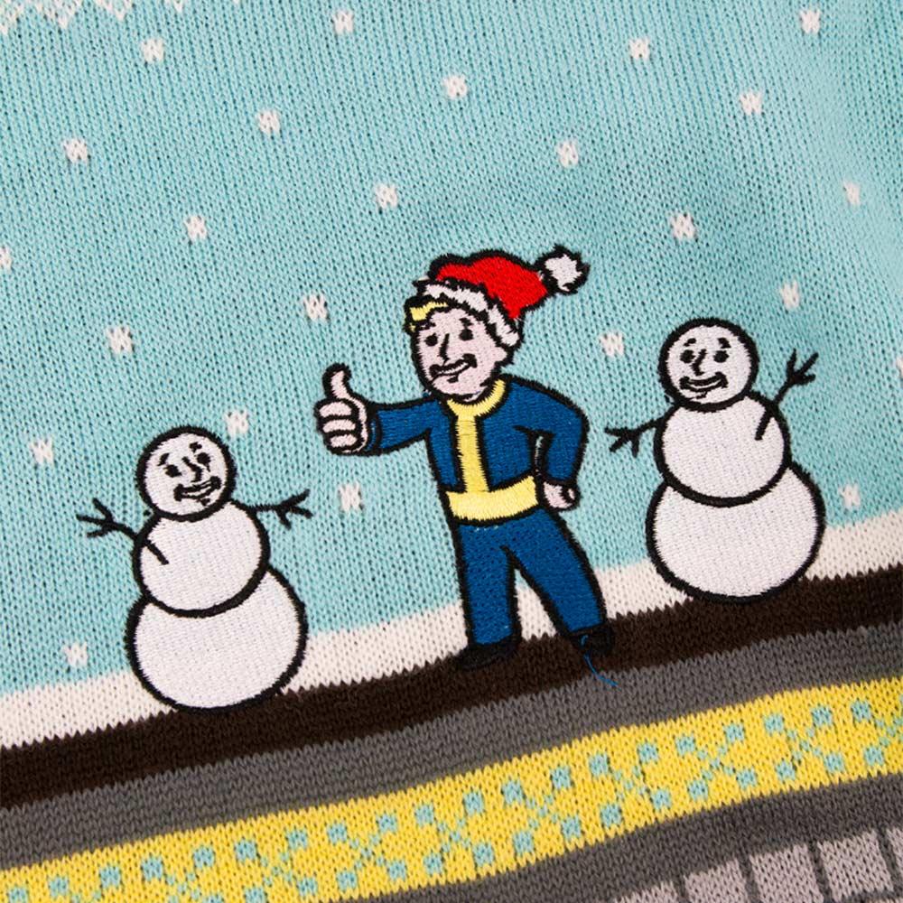 Vault Tec Christmas Sweater.Fallout Vault Christmas Jumper Ugly Sweater Numskull