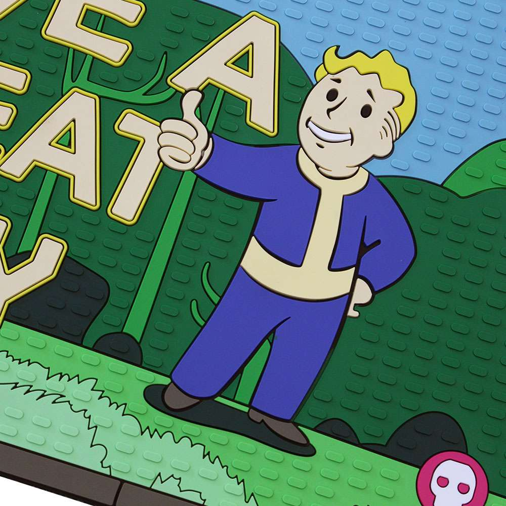 Official Fallout 76 'Have a Great Day' Rubber Door Mat / Floor Mat