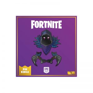Pin Kings Fortnite Enamel Pin Badge Set 1.1 – Raven