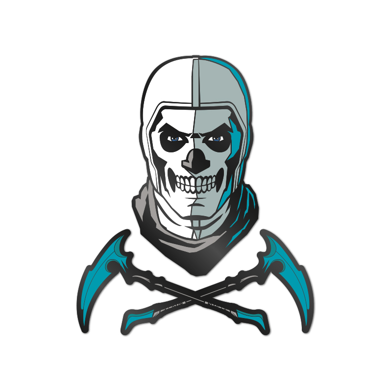 Pin Kings Fortnite Enamel Pin Badge Set 1.3 – Skull Trooper
