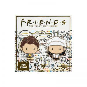 Pin Kings Friends Enamel Pin Badge Set 1.2 – Monica & Chandler