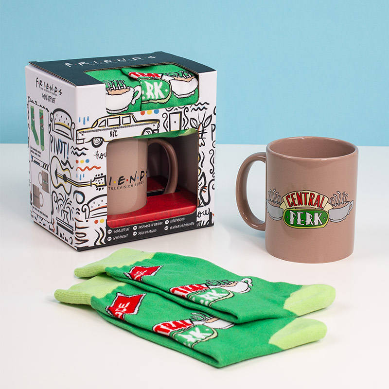 Official Friends Gift Set – Mug / Socks