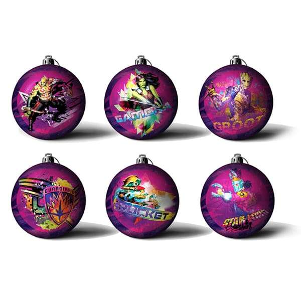 Guardians of The Galaxy Baubles / Christmas Tree Ornaments