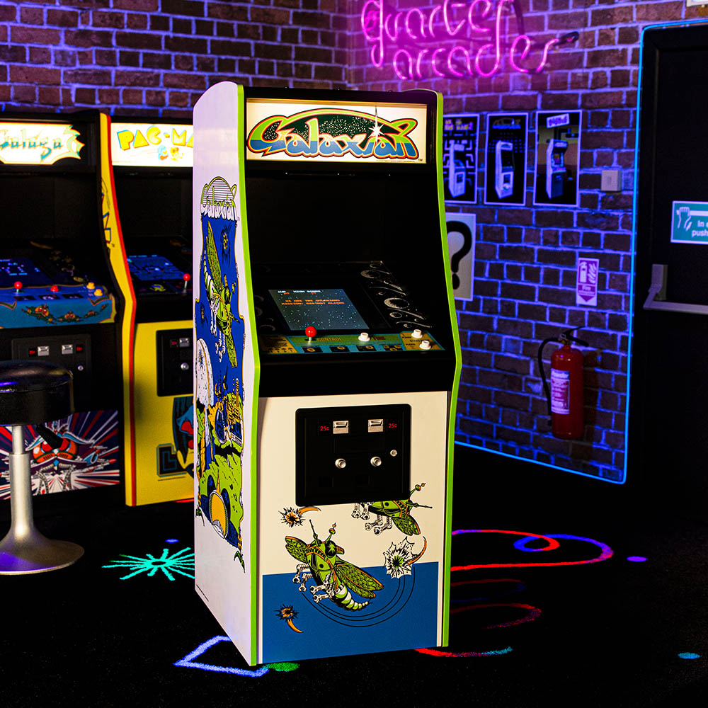 Galaxian Quarter Scale Arcade Cabinet