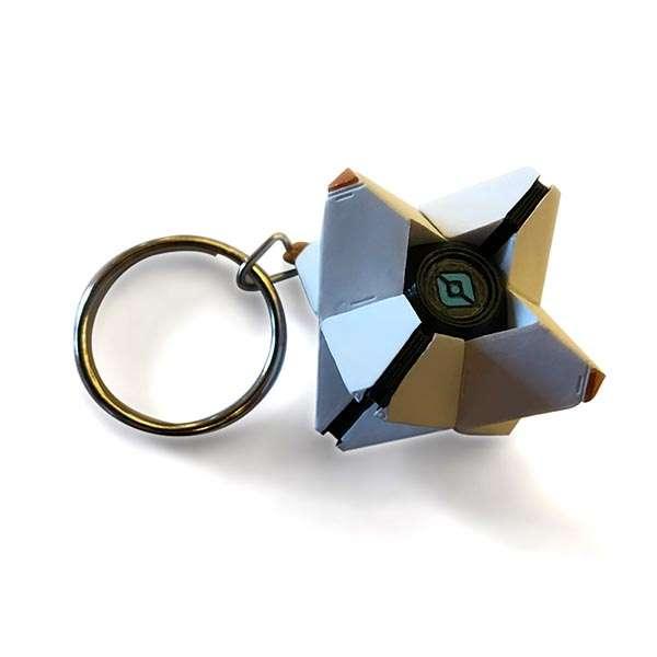 Destiny 2 3D Ghost Keychain / Keyring