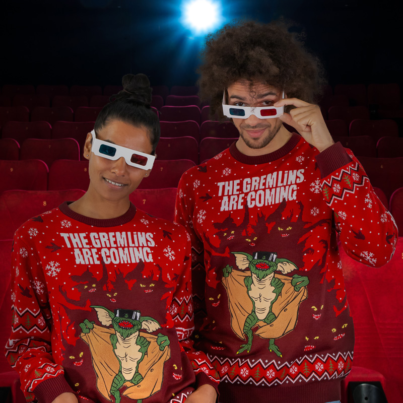 Gremlins Are Coming Christmas Jumper / Ugly Sweater