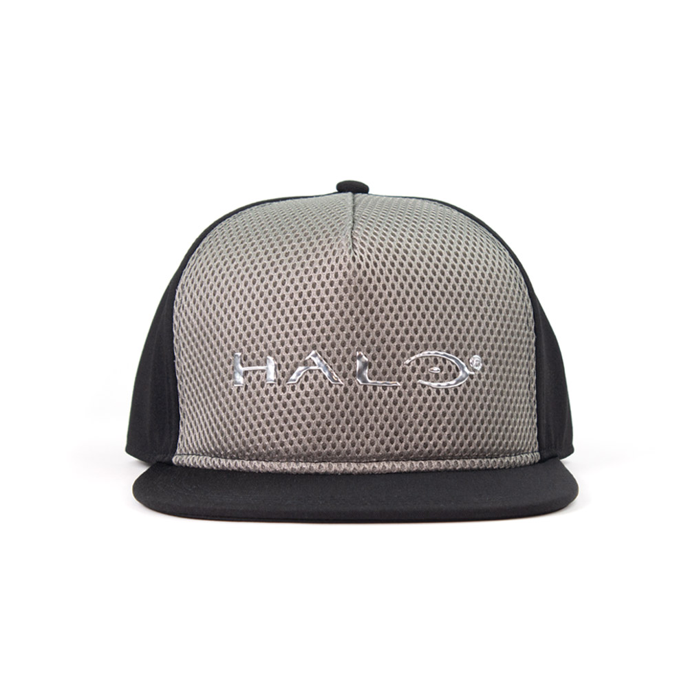 Official Halo Liquid Chrome Snapback