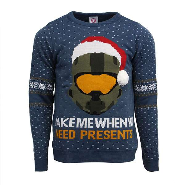 Halo Christmas Jumper / Sweater
