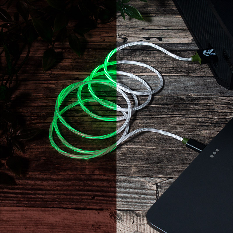 Official Halo USB C LED Charge Cable (Xbox Series X & Series S, PS5 and Nintendo Switch)