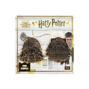 Pin Kings Harry Potter Enamel Pin Badge Set 1.1 – Book of Monsters & Fluffy