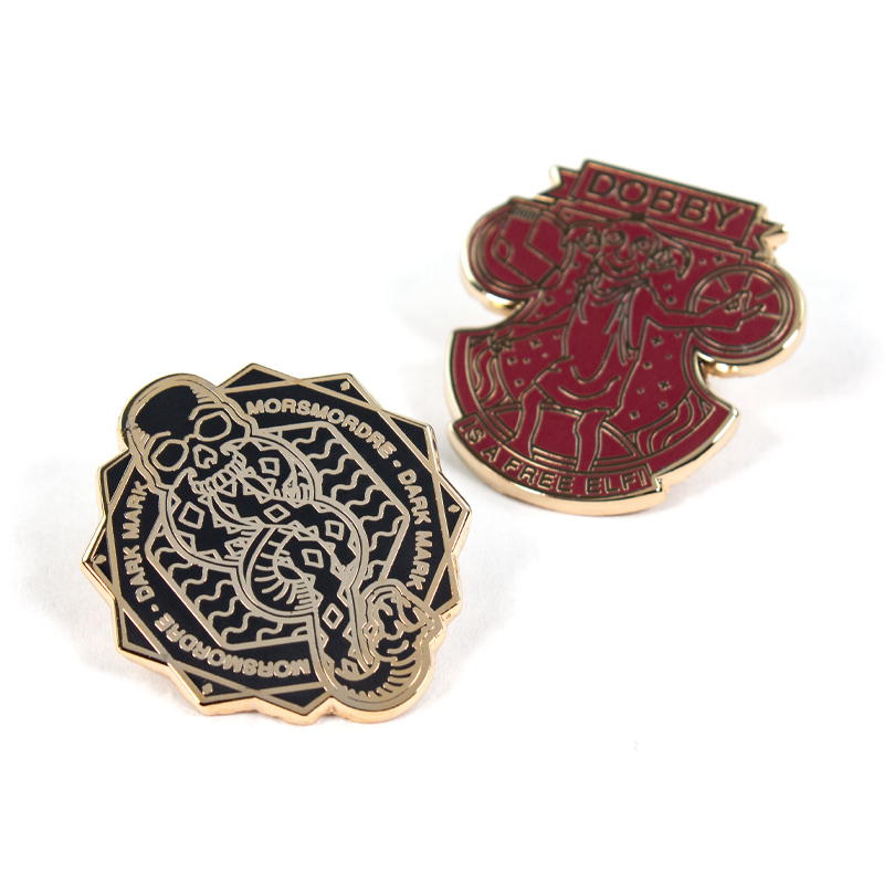 Pin Kings Harry Potter Enamel Pin Badge Set 1.3 – Dark Mark & Dobby
