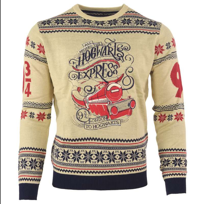 Harry Potter Hogwarts Express Christmas Jumper / Ugly Sweater