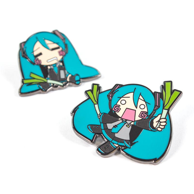 Pin Kings Hatsune Miku Enamel Pin Badge Set 1.1