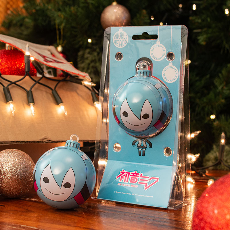 Bauble Heads Hatsune Miku Christmas Decoration / Ornament