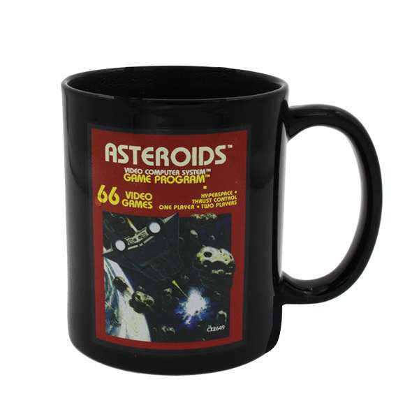 Asteroids Cartridge Heat Changing Mug