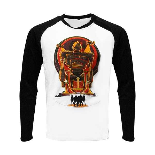 Ready Player One Iron Giant Raglan T-Shirt