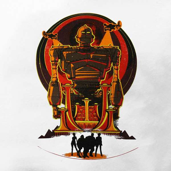 Ready Player One Iron Giant Raglan T-Shirt