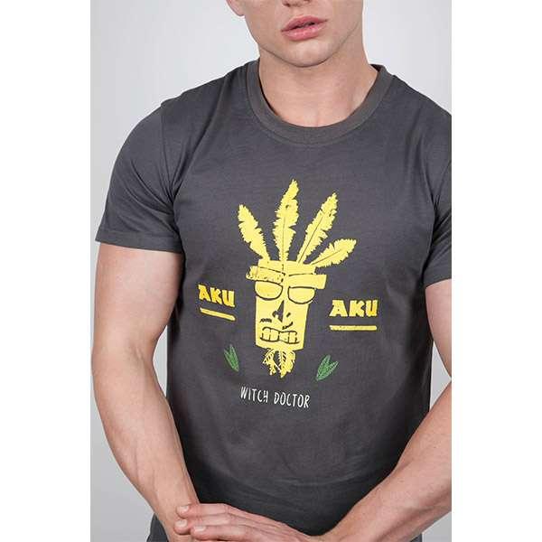 Crash Bandicoot Aku Aku Witch Doctor T-Shirt