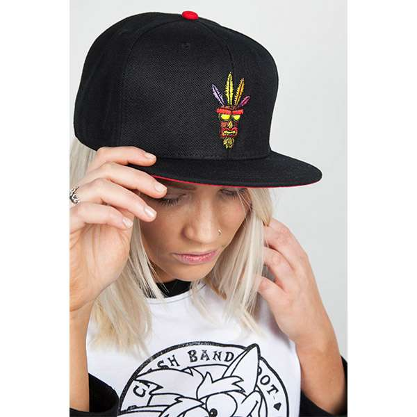 Crash Bandicoot Aku Aku Snapback