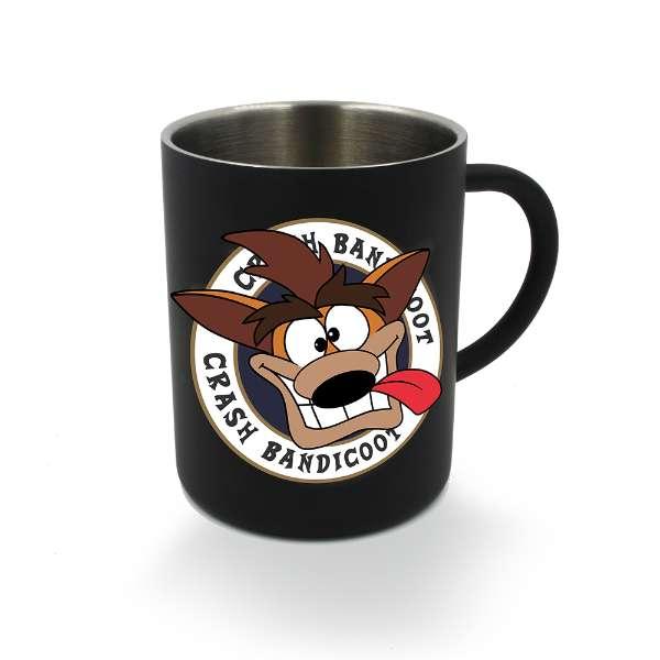 Crash Bandicoot Black Crash Steel Mug