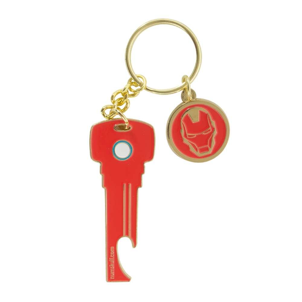 Iron Man Key Bottle Opener Keyring / Keychain - Numskull