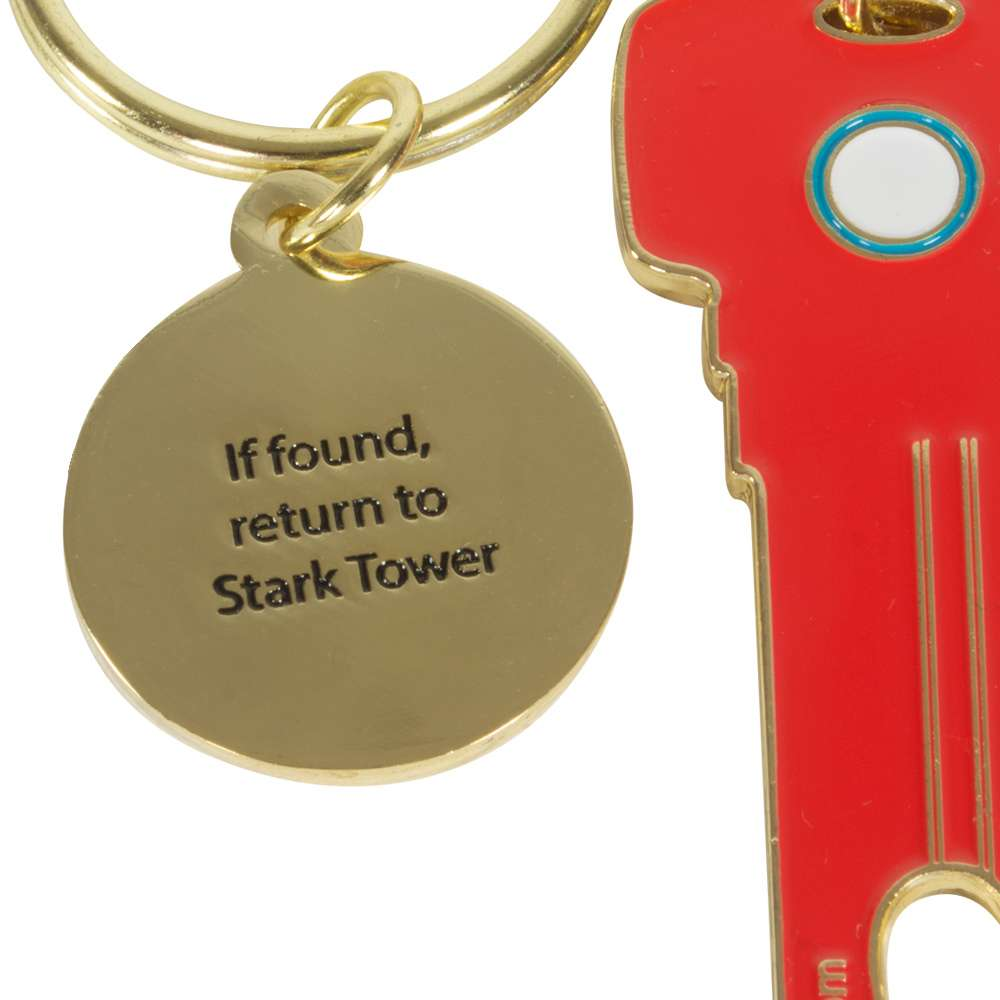 Iron Man Key Bottle Opener Keyring / Keychain