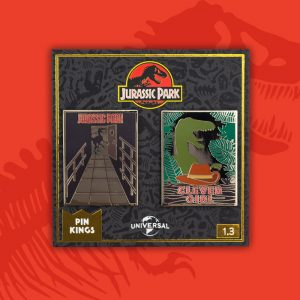Pin Kings Jurassic Park Enamel Pin Badge Set 1.3