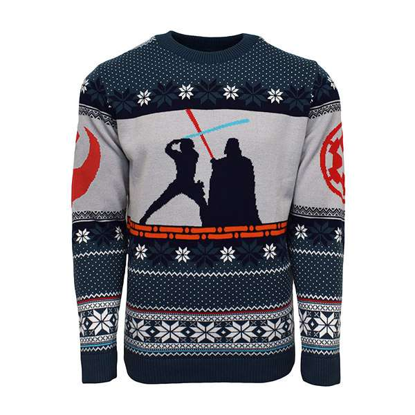 Luke vs Darth Christmas Jumper / Sweater