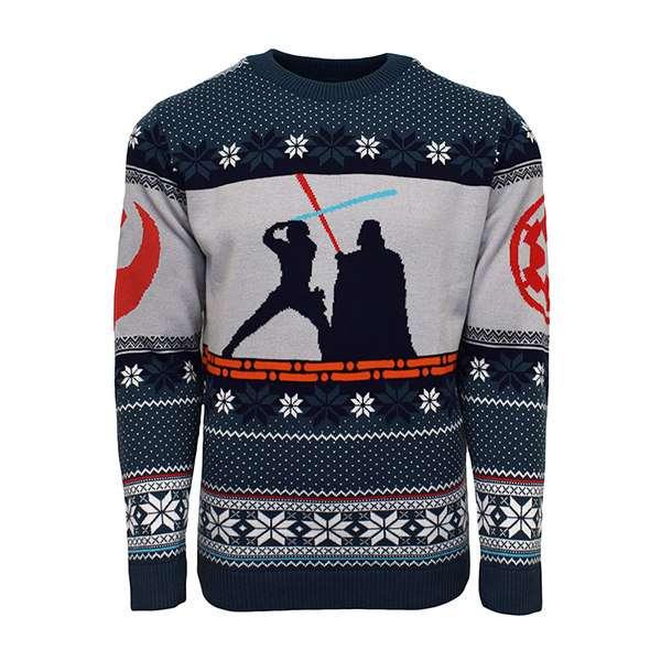Luke vs Darth Christmas Jumper / Sweater
