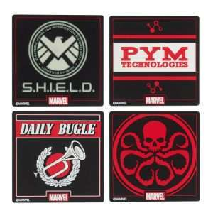 Official Marvel Coaster Set (4 Pack)