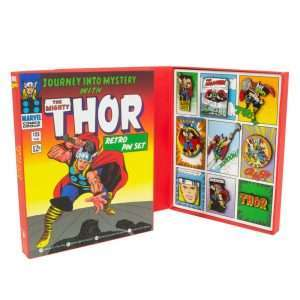 Thor Retro Pin Badge Set
