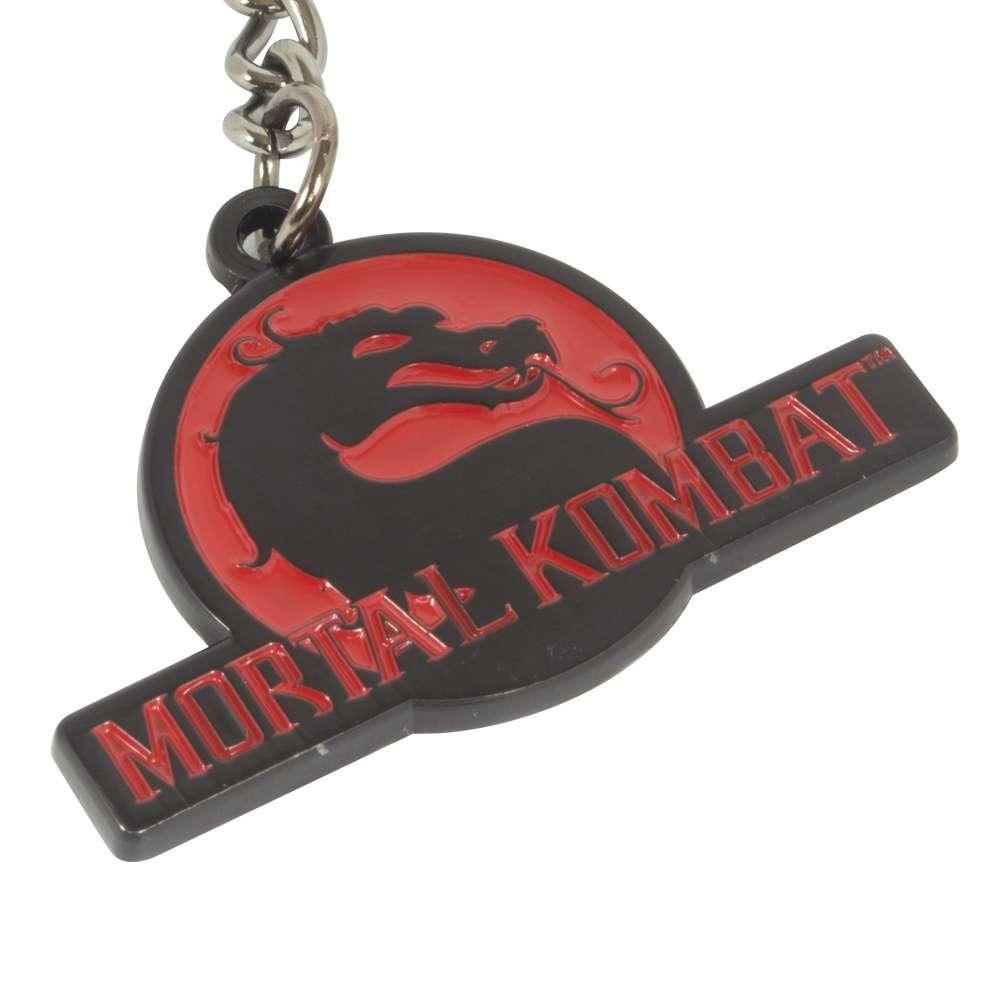 Mortal Kombat Logo Keyring / Keychain