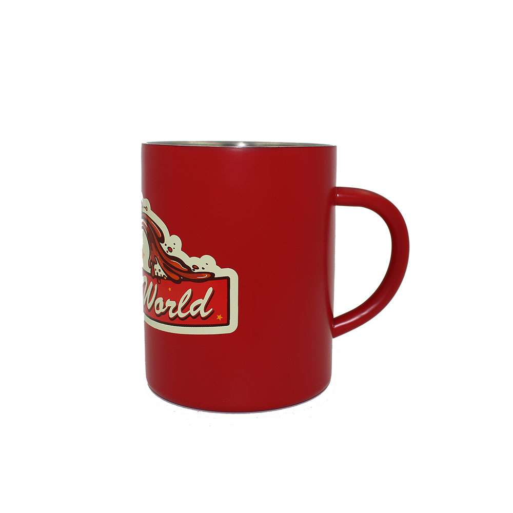Official Fallout 76 Nuka-World Steel Mug