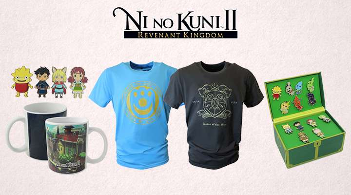 Official Ni no Kuni II Merchandise