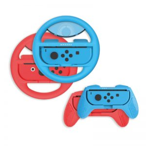 Numskull Nintendo Switch Pro Racing Deluxe (4 Pack) for Joy-Con Controllers