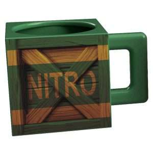 Crash Bandicoot Nitro Crate Mug
