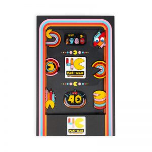 PAC-MAN 40th Anniversary Pin Badge Set