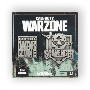 Call Of Duty Warzone 'Warzone and Scavenger' Pin Badge Set 2.1