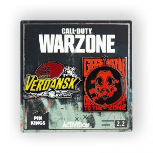 Call Of Duty Warzone 'Verdansk and Gas Incoming' Pin Badge Set 2.2
