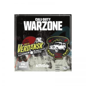 Call Of Duty Warzone 'Verdansk' Pin Badge Set 2.2