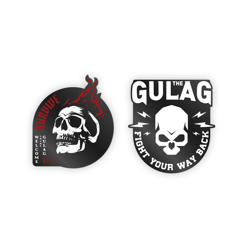 Call Of Duty Warzone 'Gulag' Pin Badge Set 2.3