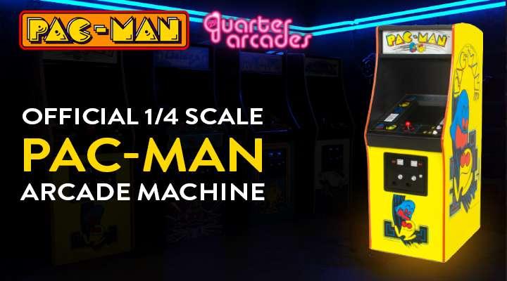 Official 1/4 PAC-MAN Arcade Machine