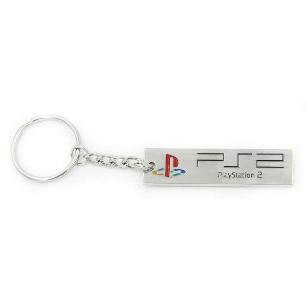 PlayStation 2 Logo Keyring / Keychain