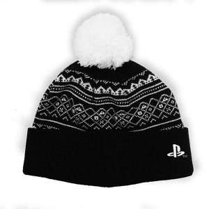 Official PS4 Beanie / Bobble Hat