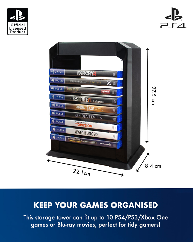 PlayStation 4 / PS4 Premium Games Tower / Holder