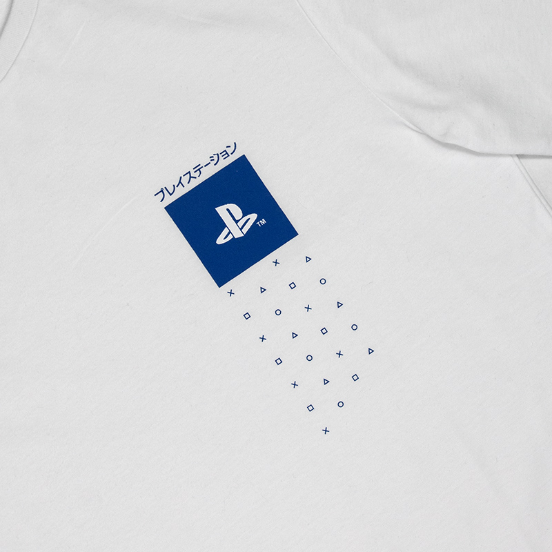 Official PlayStation Japanese Inspired T-Shirt
