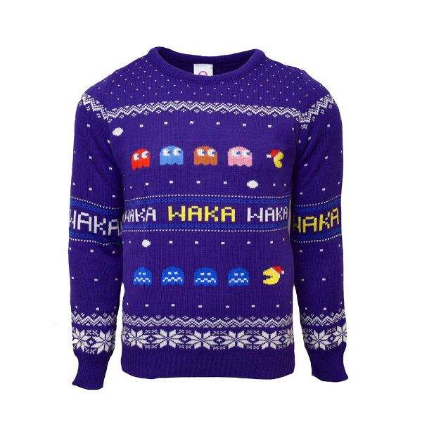 Pac-Man Christmas Jumper / Sweater